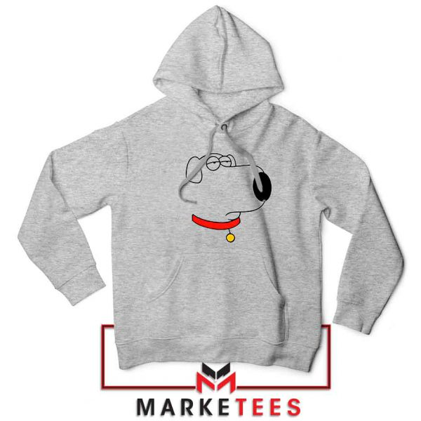 Brian Griffin Face Sport Grey Jacket