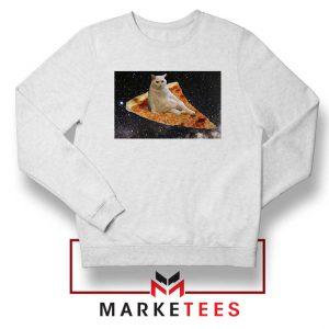 Cat Pizza Funny Design Sweater