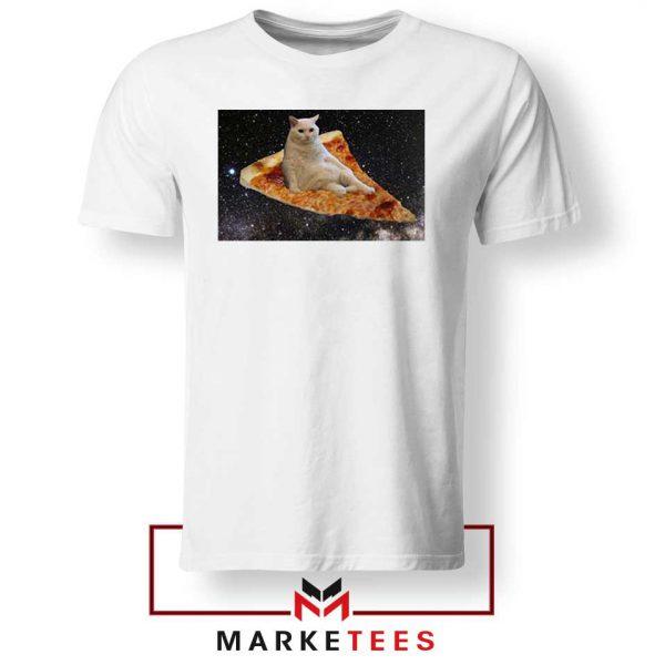 Cat Pizza Funny Design Tshirt