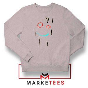 Ed Edd n Eddy Plank Face Grey Sweater