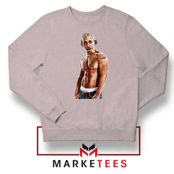 Einstein Equation Mass Tattoo Grey Sweater