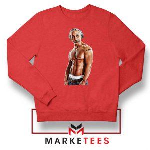 Einstein Equation Mass Tattoo Red Sweater