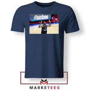 Embiid The 76ers Design Navy Tshirt