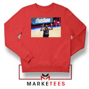 Embiid The 76ers Design Red Sweater