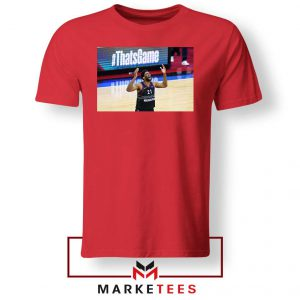Embiid The 76ers Design Red Tshirt
