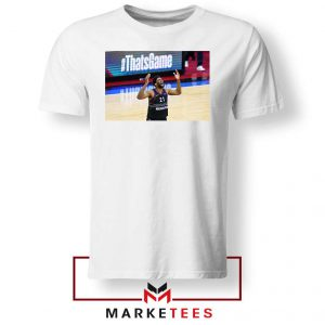 Embiid The 76ers Design White Tshirt