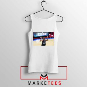 Embiid The 76ers Summer White Tank Top