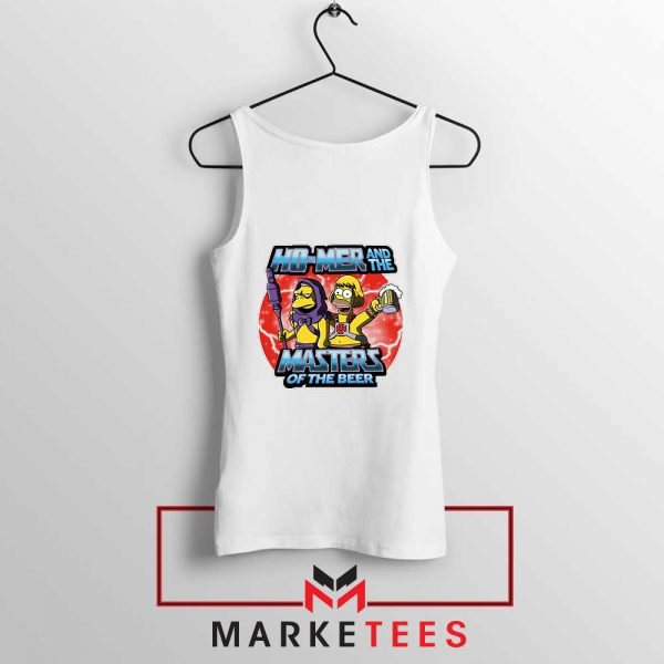 Homer Master Of The Beer Tank Top