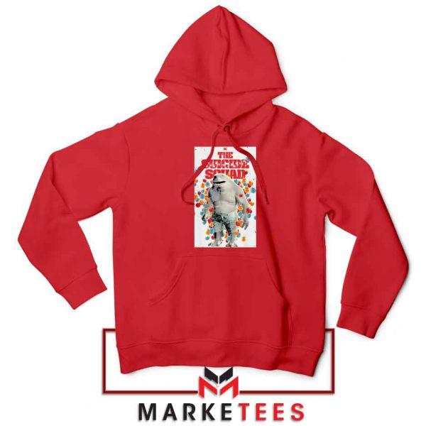 King Shark Poster Red Hoodie