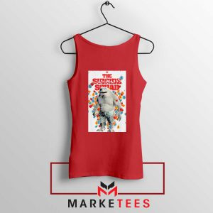 King Shark Poster Red Tank Top