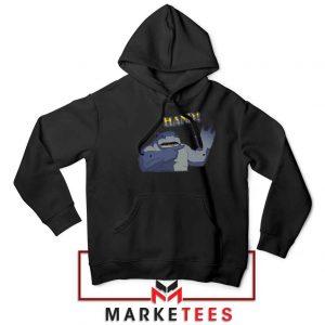 King Shark Says Hand Black Jacket