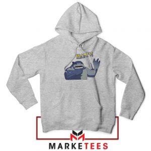 King Shark Says Hand Grey Jacket
