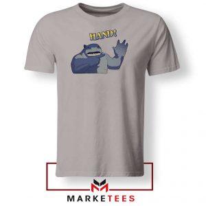 King Shark Says Hand Grey Tee
