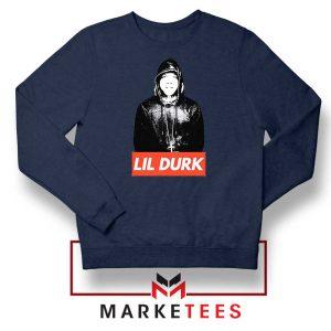 Lil Durk Chicago Rapper Navy Sweater