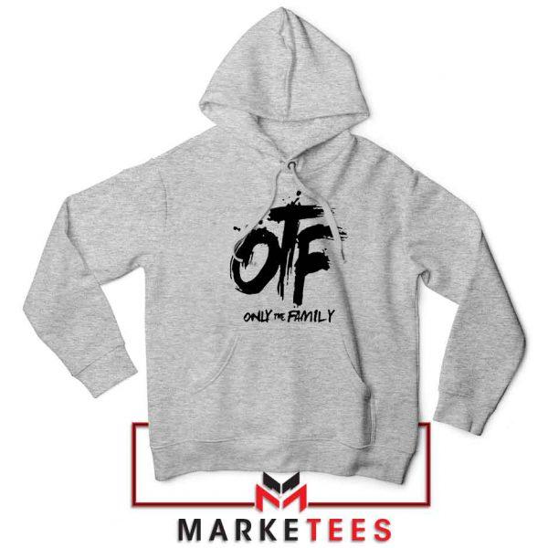 Lil Durk OTF Rap Group Grey Hoodie