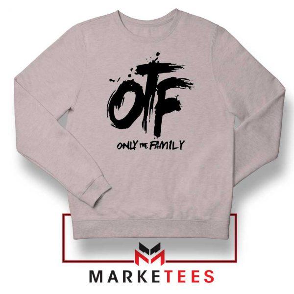 Lil Durk OTF Rap Group Grey Sweatshirt