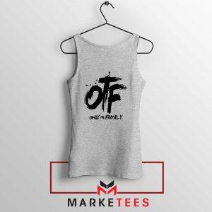 Lil Durk OTF Rap Group Grey Tank Top