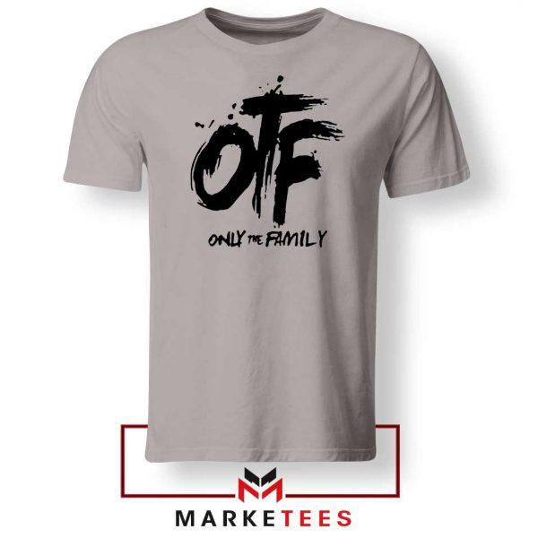 Lil Durk OTF Rap Group Grey Tshirt