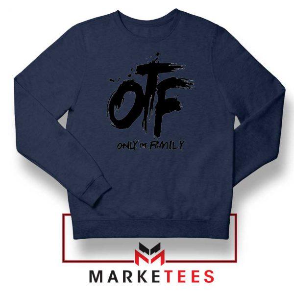 Lil Durk OTF Rap Group Navy Sweatshirt