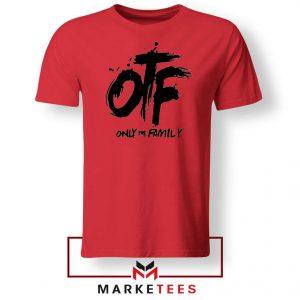 Lil Durk OTF Rap Group Red Tshirt