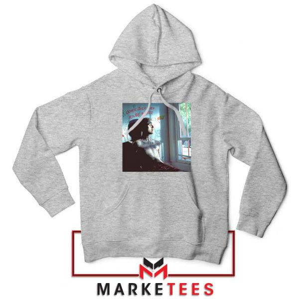 Lil Peep Broken Smile Design Grey Jacket