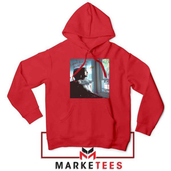 Lil Peep Broken Smile Design Red Jacket