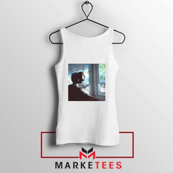 Lil Peep Broken Smile Design Tank Top