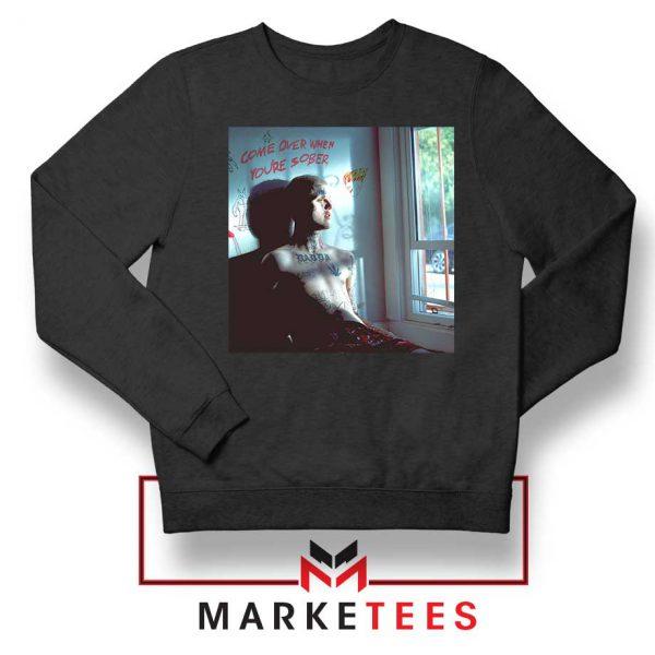 Lil Peep Broken Smile Song Black Sweater