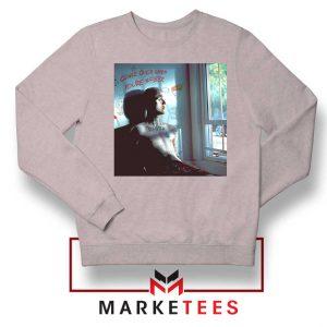Lil Peep Broken Smile Song Grey Sweater