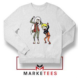 Naruto Rick Morty Design Sweater