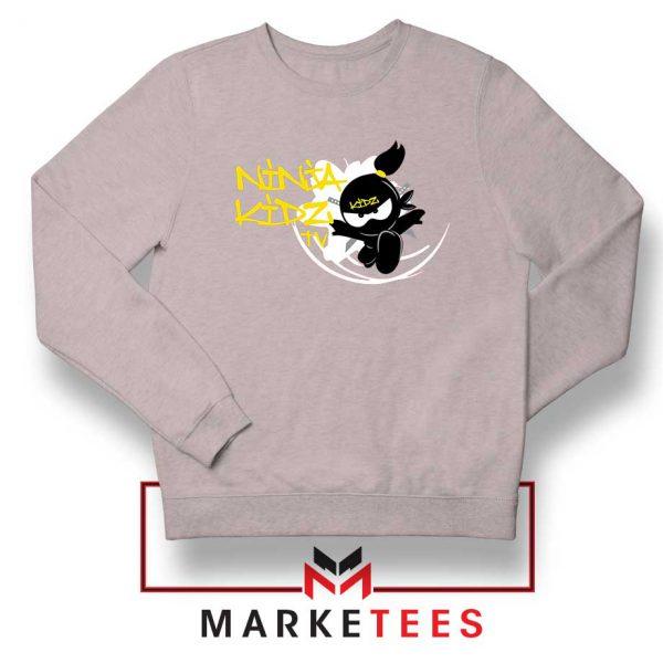 Ninja Kidz TV Family Sport Grey Sweatshirt