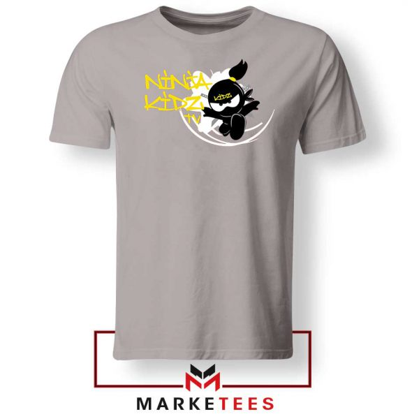 Ninja Kidz TV Family Sport Grey Tshirt