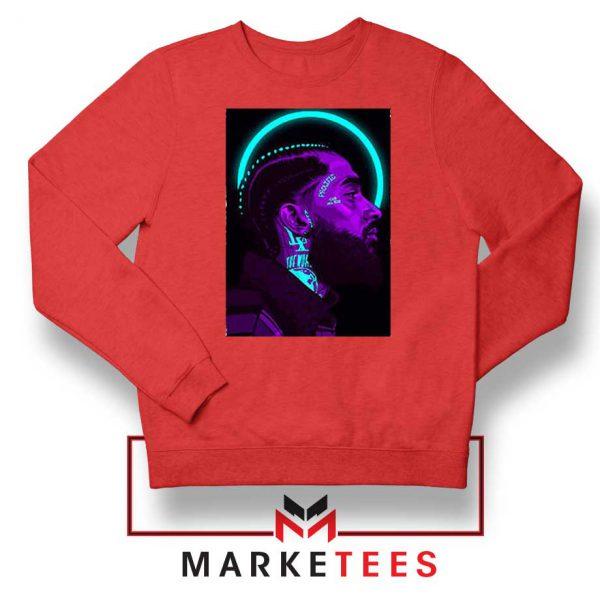 Nipsey Hussle The Marathon Red Sweatshirt