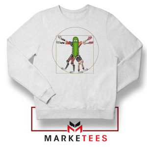 Pickle Rick Design Renaissance Sweatshirt