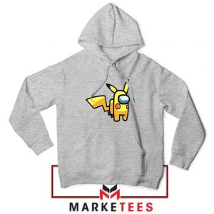 Pikachu Among US Pokemon Grey Jacket