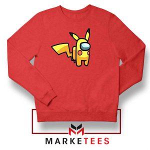 Pikachu Among US Pokemon Red Sweater