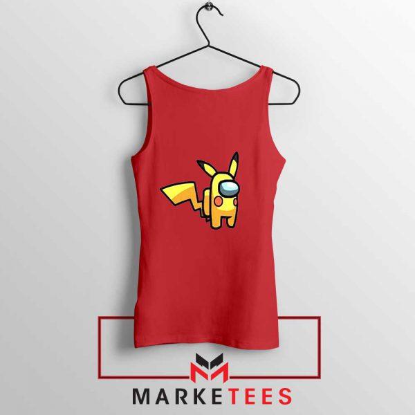 Pikachu Among US Pokemon Red Tank Top