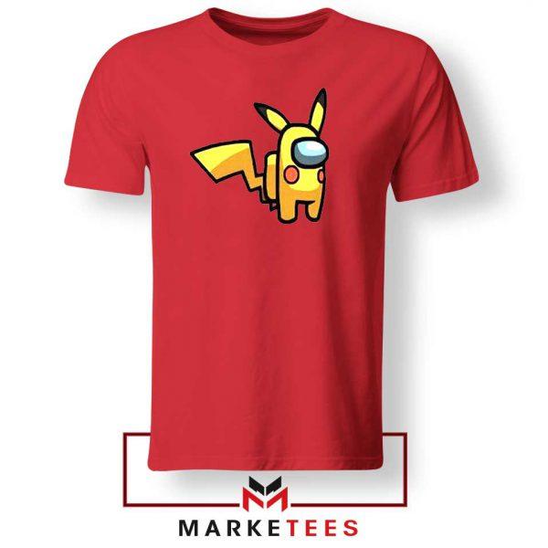 Pikachu Among US Pokemon Red Tee