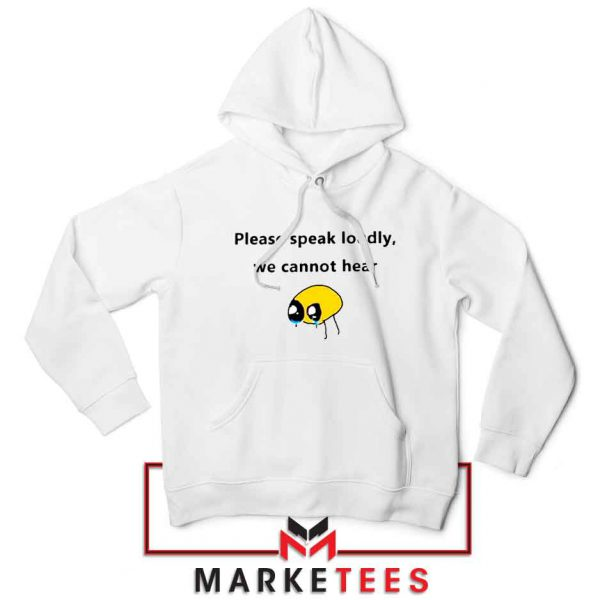 Please Speak Loudly Design Jacket