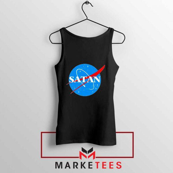 Satan Space Logo Parody Tank Top