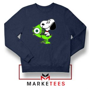 Snoopy Mike Monsters Costume Navy Sweater