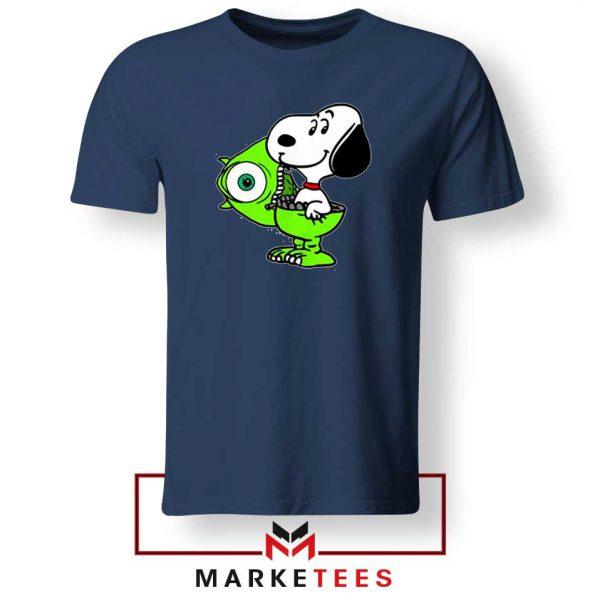 Snoopy Mike Monsters Inc Costume Navy Tee