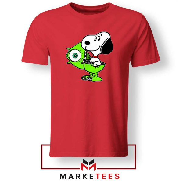 Snoopy Mike Monsters Inc Costume Red Tee