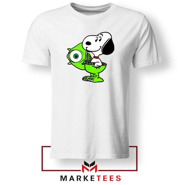 Snoopy Mike Monsters Inc Costume Tee