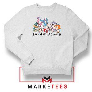 Squad Goals Friend Cartoon Sweatshirt