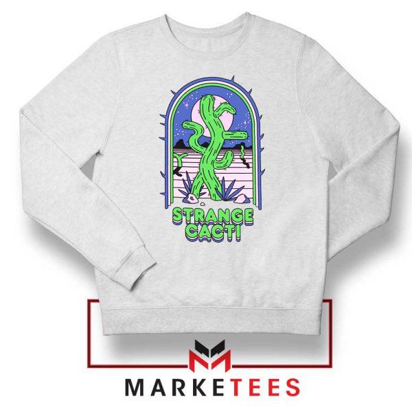 Strange Cacti Night Design Sweater