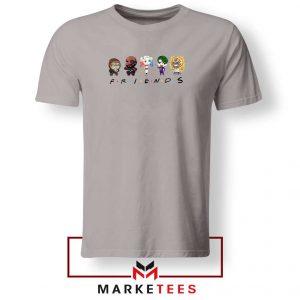 Suicide Squad Friends Parody Sport Grey Tshirt