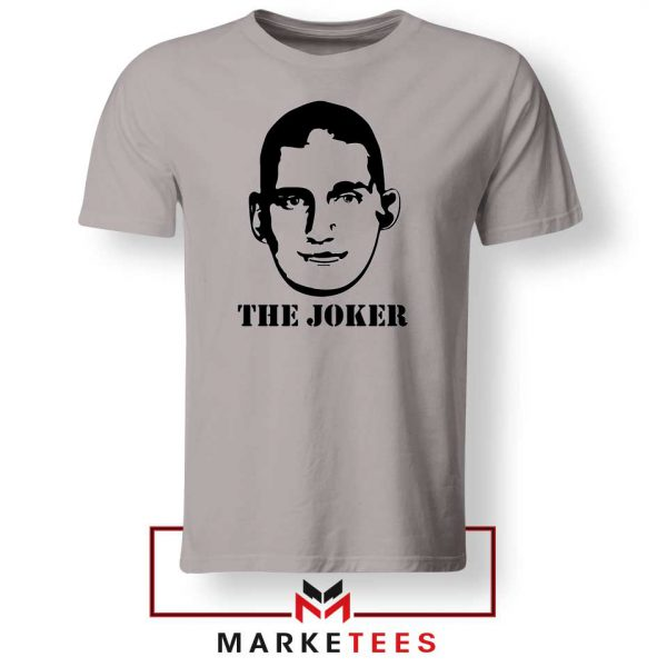 The Joker Basketball Player Grey Tshirt