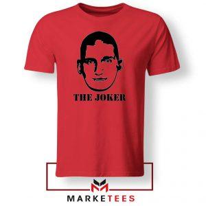 The Joker Basketball Player Red Tshirt