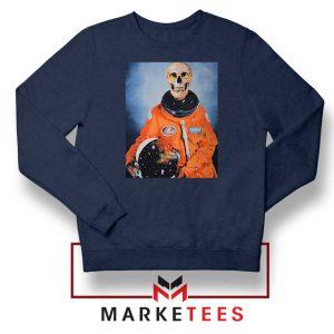 Travis Scott Astronaut Navy Blue Sweater